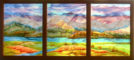 Landscape Glass Portland Oregon : Art commissions ambiente glass in portland oregon