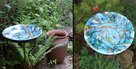 Garden Art Glass With Ambiente Art Glass